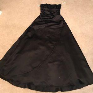 Davids bridal black ballgown!